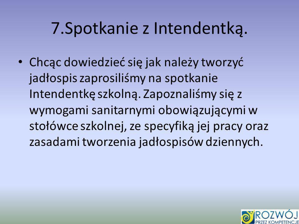 7.Spotkanie z Intendentką.