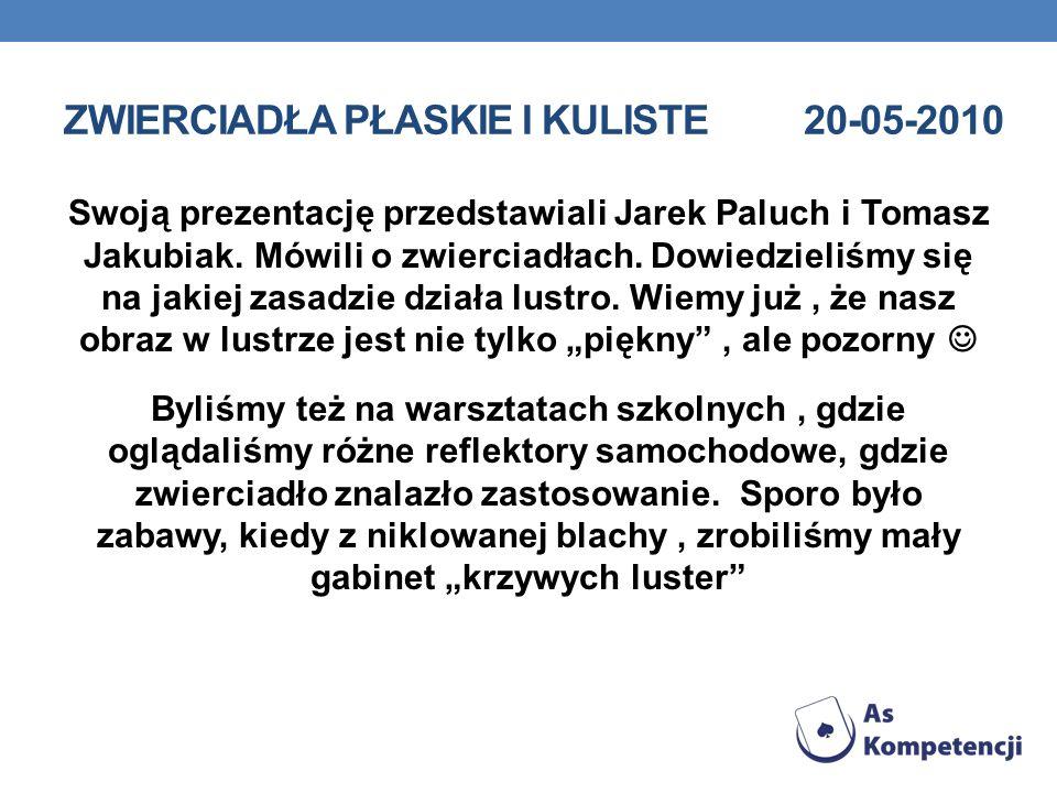 WYKŁAD PANI DOROTY RUDZIŃSKIEJ Z POLITECHNIKI WROCŁAWSKIEJ PT.