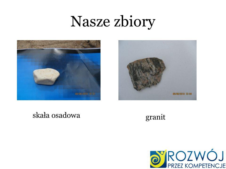 Nasze zbiory skała osadowa granit