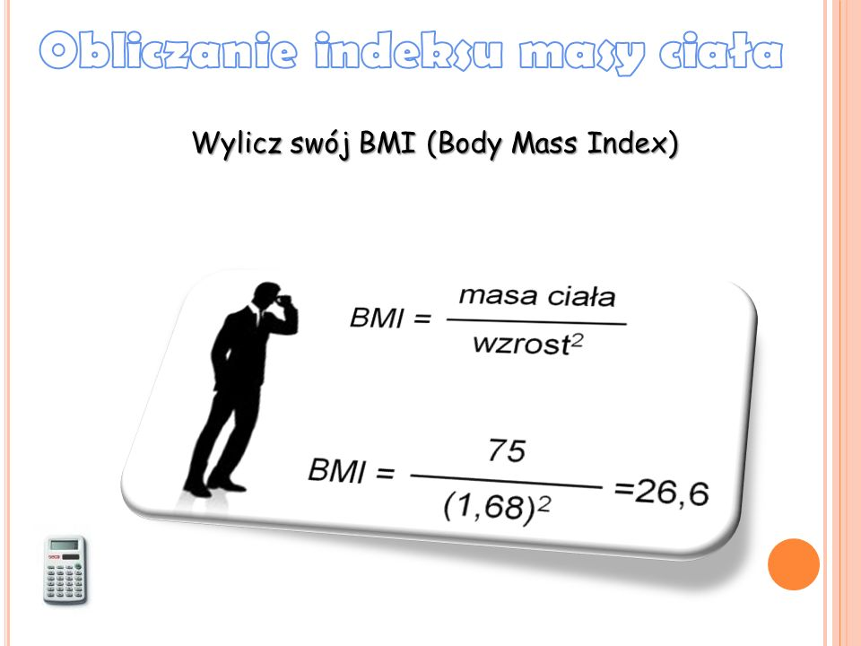 Wylicz swój BMI (Body Mass Index)