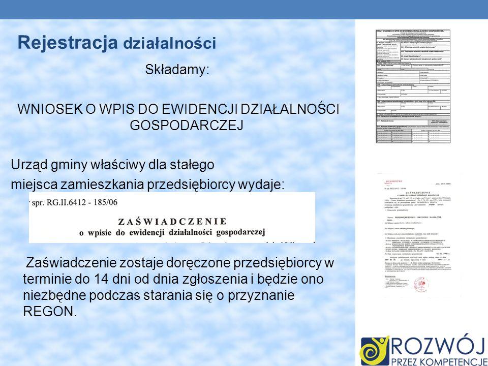 Urząd statystyczny jest zobowiązany w ciągu 14 dni wydać numer Identyfikacyjny REGON. Regon