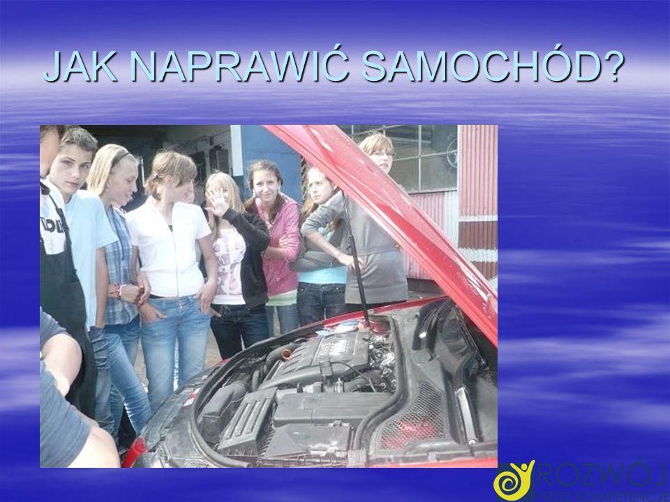 W FIRMIE SAMOCHODOWEJ,,NUREK 16.06.2010 grupa udała się do zakładu samochodowego, aby poznać tajniki funkcjonowania oraz zarządzania firmą samochodową.