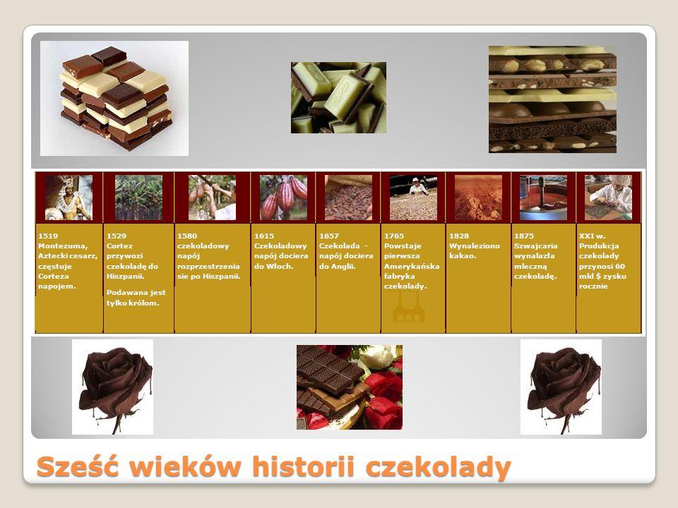 Sześć wieków historii czekolady