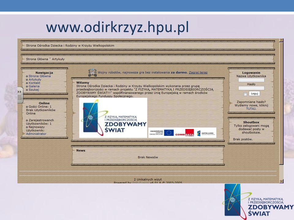 www.odirkrzyz.hpu.pl