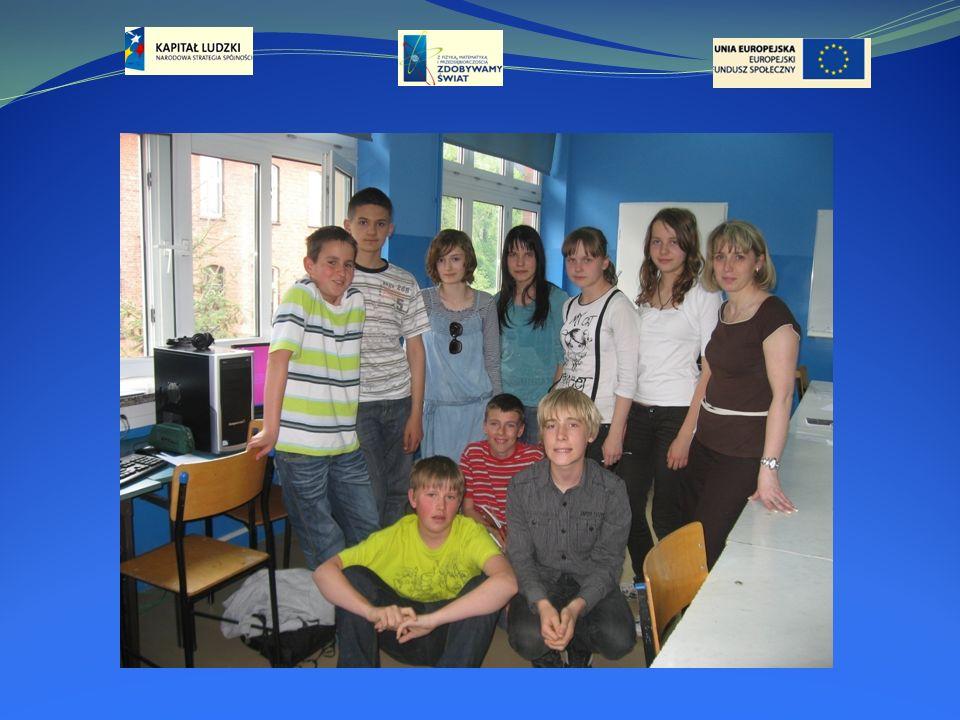 Program Operacyjny kapitał Ludzki 2007-2013 CZŁOWIEK - NAJLEPSZA INWESTYCJA Publikacja jest współfinansowana przez Unię Europejską w ramach środków Europejskiego Funduszu Społecznego Publikacja jest dystrybuowana bezpłatnie Projekt,, Z FIZYKĄ, MATEMATYKĄ I PRZEDSIĘBIORCZOŚCIĄ ZDOBYWAMY ŚWIAT!!.