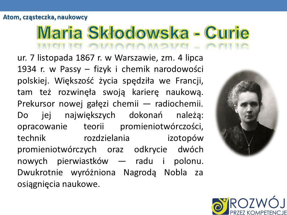 ur.7 listopada 1867 r. w Warszawie, zm. 4 lipca 1934 r.