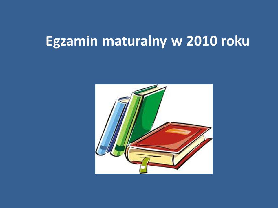Egzamin maturalny w 2010 roku