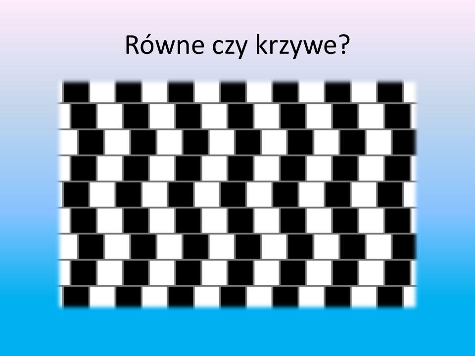 Złudzenie optyczne jest to błędna interpretacja obrazu przez mózg pod wpływem kontrastu, cieni, użycia kolorów, które automatycznie wprowadzają mózg w