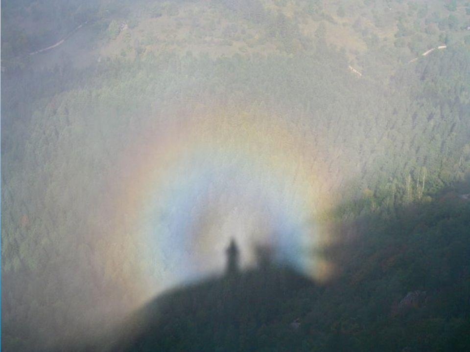 Zjawisko to występuje na chmurach, położonych na wprost przed obserwatorem, albo niżej od niego. Na te same chmury pada cień obserwatora i wówczas wyd