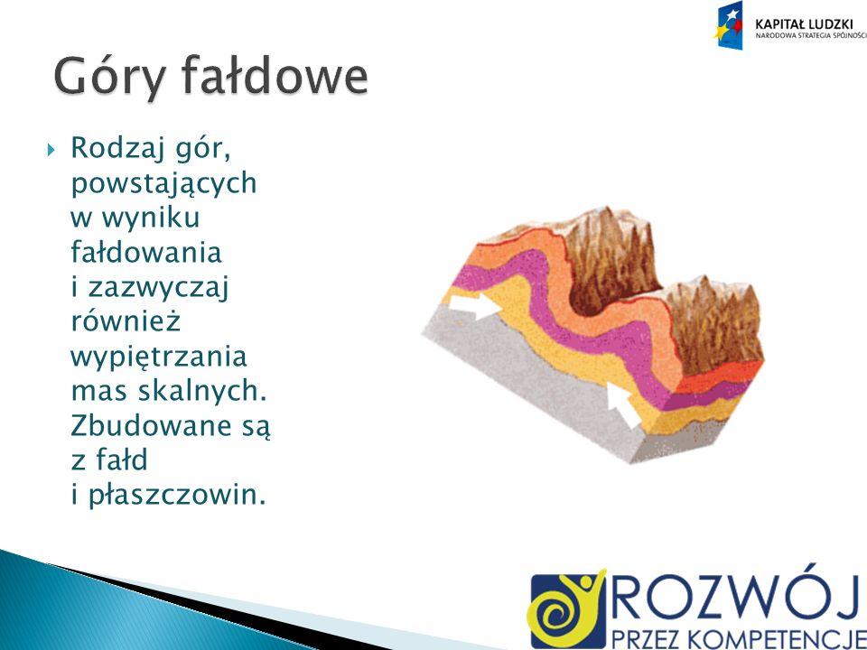 Rodzaj gór, powstających w wyniku fałdowania i zazwyczaj również wypiętrzania mas skalnych.