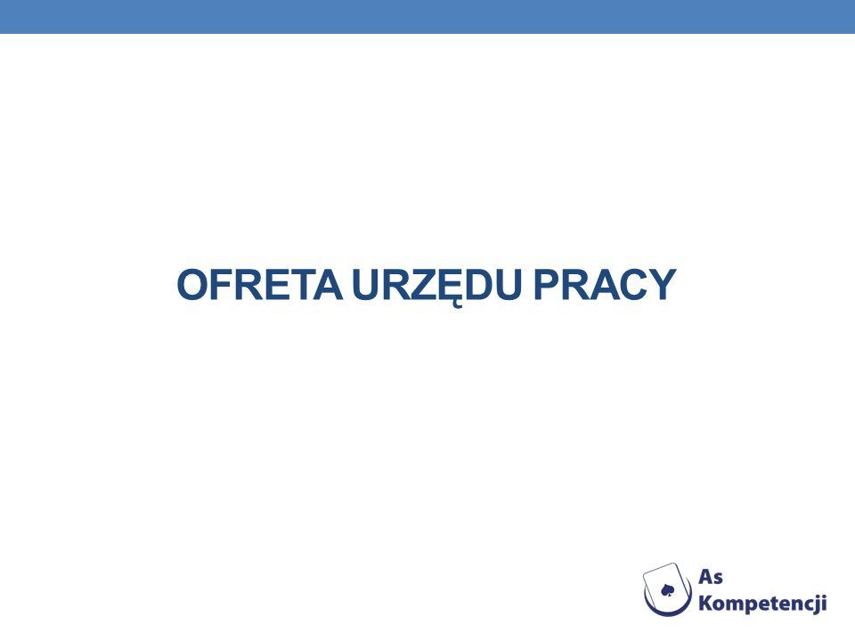 OFRETA URZĘDU PRACY
