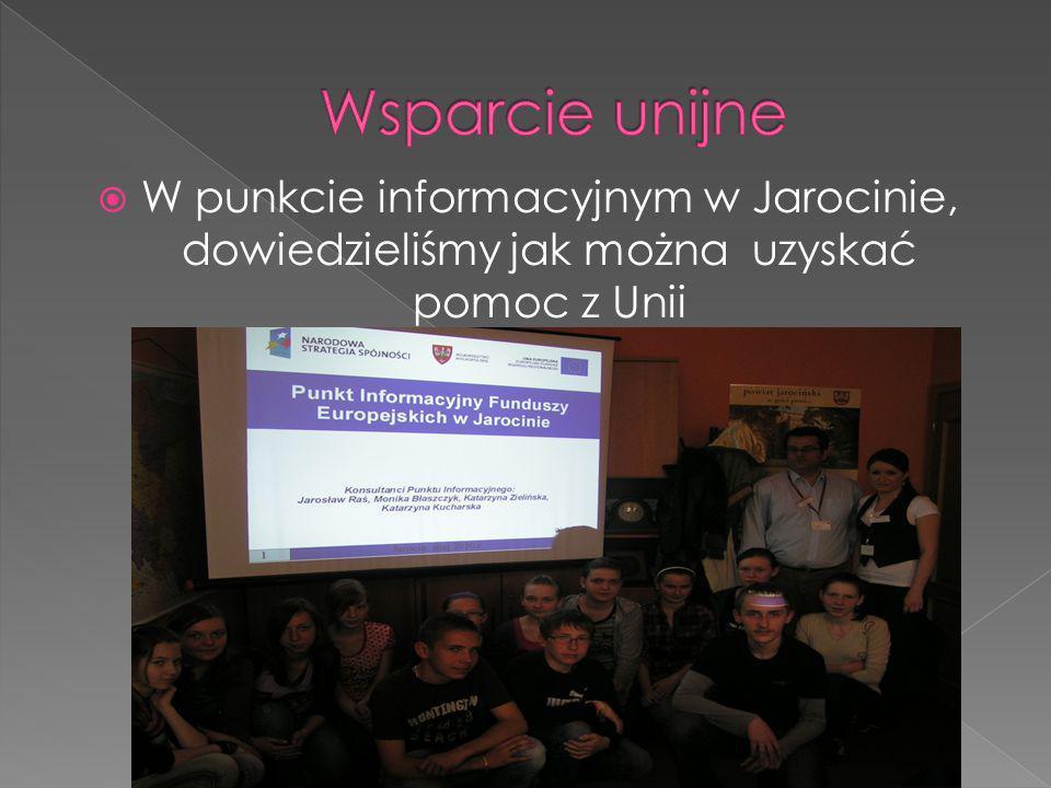 W punkcie informacyjnym w Jarocinie, dowiedzieliśmy jak można uzyskać pomoc z Unii