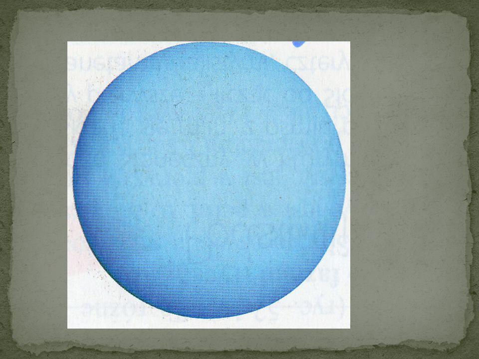Do planety tej dociera mało energii słonecznej, dlatego jej temperatura nie wzrasta powyżej 209 o C.Uran wolno obiega Słońce, zajmuje mu to przeszło 8
