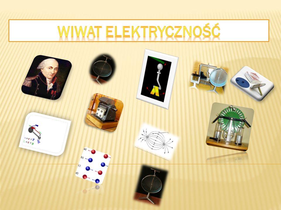 Ładunki są źródłem pola elektrycznego, tj.pola,w którym na naładowane ciało działa siła elektrostatyczna (elektryczna).