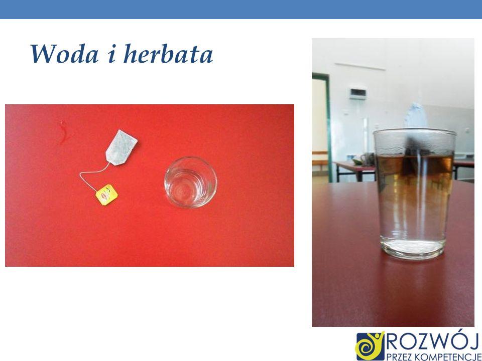 Woda i herbata