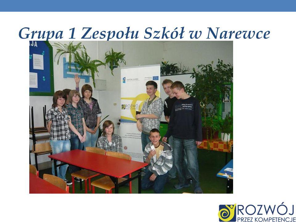 Grupa 1 Zespołu Szkół w Narewce