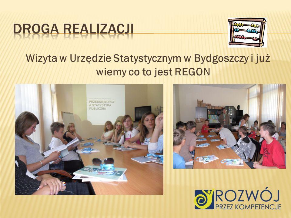 Wizyta w Urzędzie Statystycznym w Bydgoszczy i już wiemy co to jest REGON