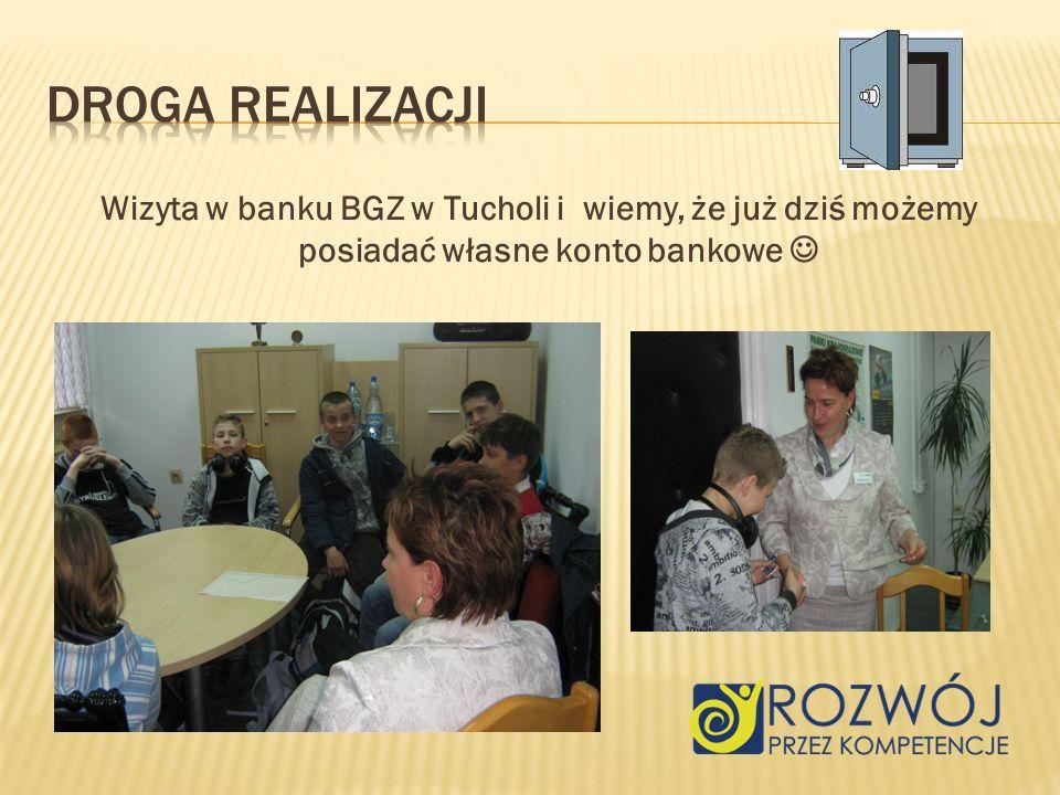 Wizyta w banku BGZ w Tucholi i wiemy, że już dziś możemy posiadać własne konto bankowe