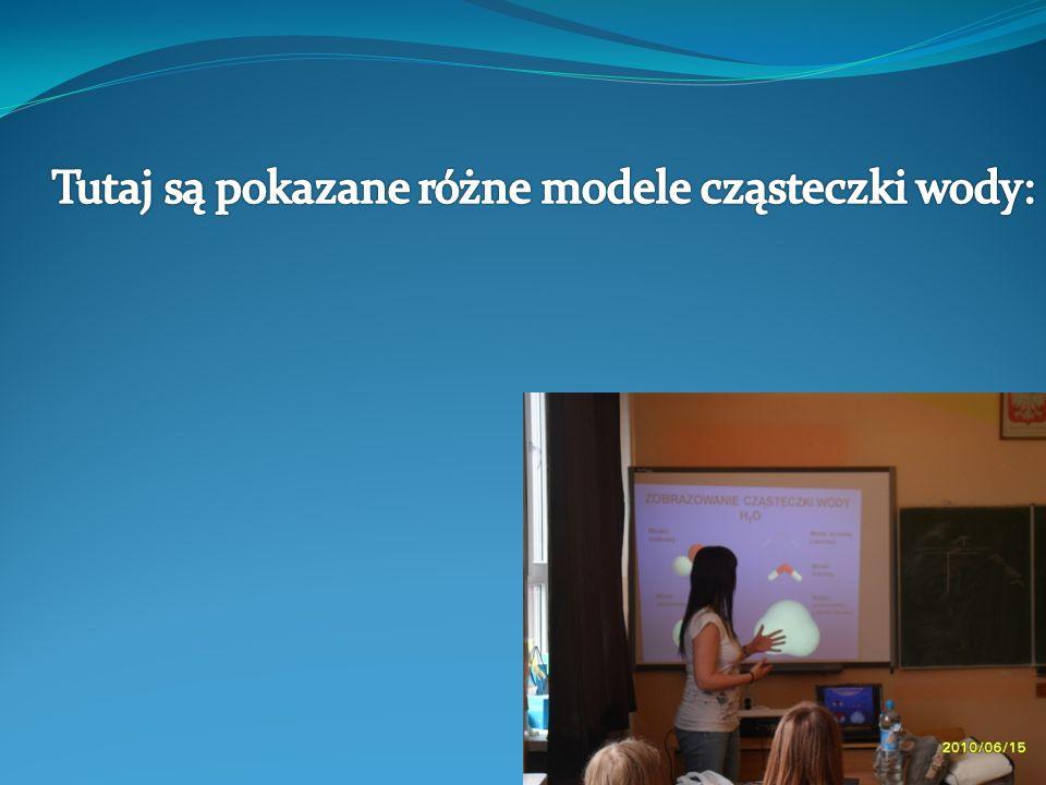 Wykładowczyni pokazywała nam przygotowane przez siebie prezentacje: