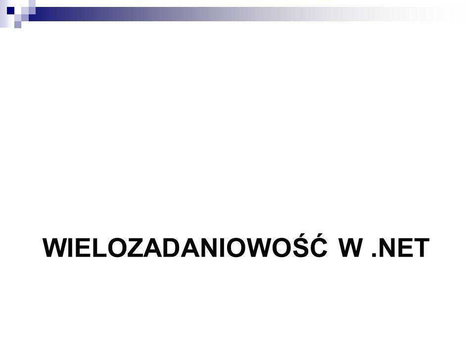 WIELOZADANIOWOŚĆ W.NET