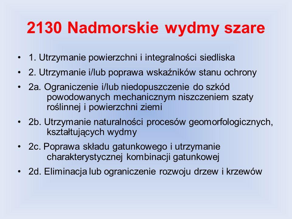 2180-1 Pomorski kwaśny las brzozowo-dębowy (Betulo-Quercetum) 2180-4 Nadmorski bór bażynowy (Empetro nigri- Pinetum) 1.