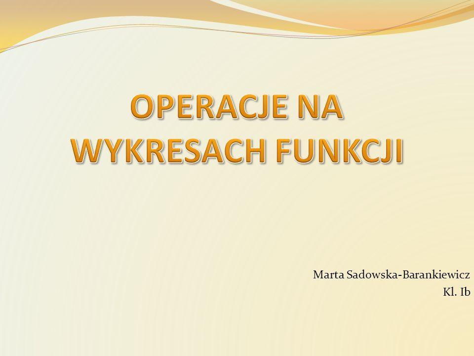 Marta Sadowska-Barankiewicz Kl. Ib