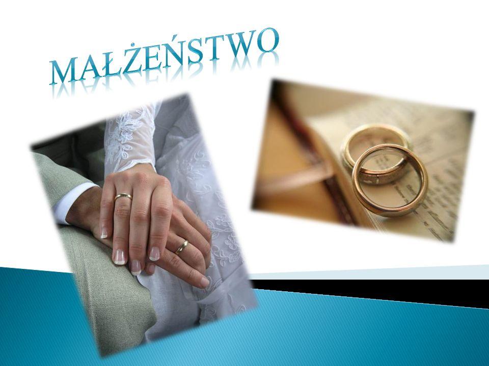 Według encyklopedii małżeństwo to związek prawny kobiety i mężczyzny.