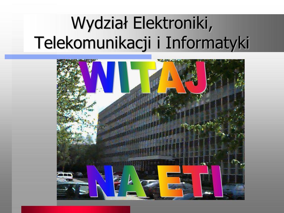 Katedra Systemów Multimedialnych Wydział ETI prowadzi pięcioletnie, dwustopniowe studia magisterskie na kierunku Telekomunikacja, w ramach których można wybrać specjalność Inżynieria Dźwięku i Obrazu.