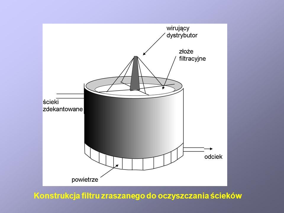 Schemat reaktora membranowego do oczyszczania ścieków