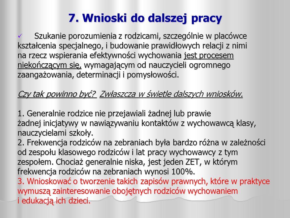 8.Działania na rzecz poprawy bezpieczeństwa podczas przerw śródlekcyjnych: 1.