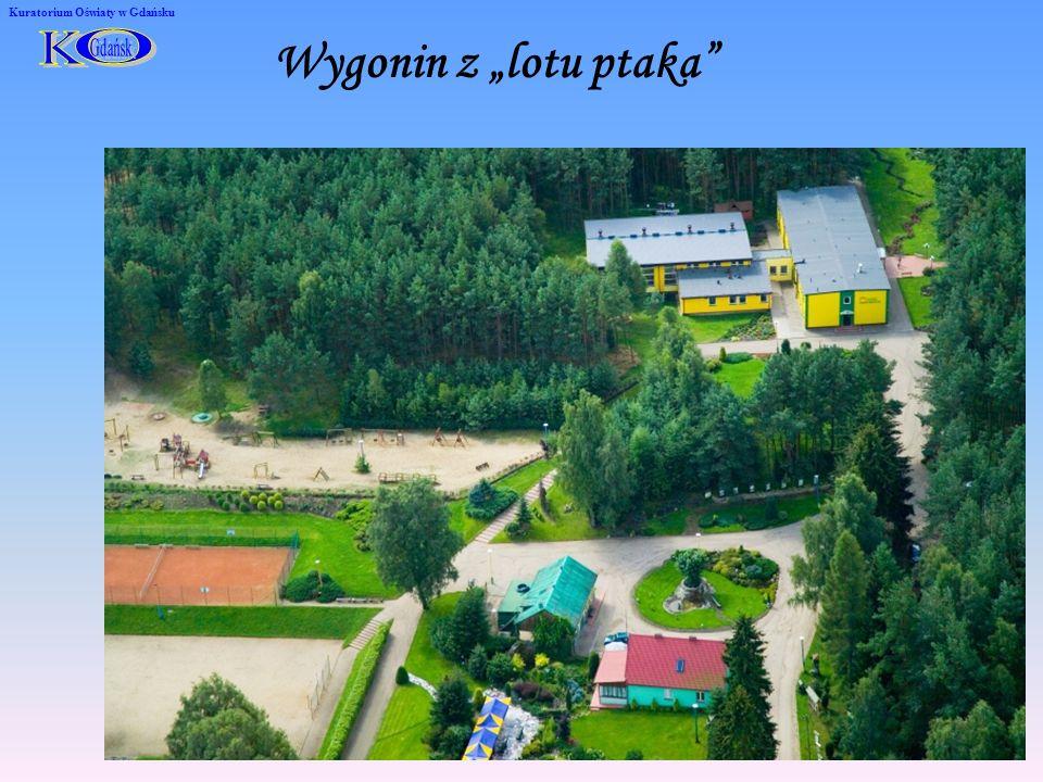 Kuratorium Oświaty w Gdańsku Wygonin z lotu ptaka