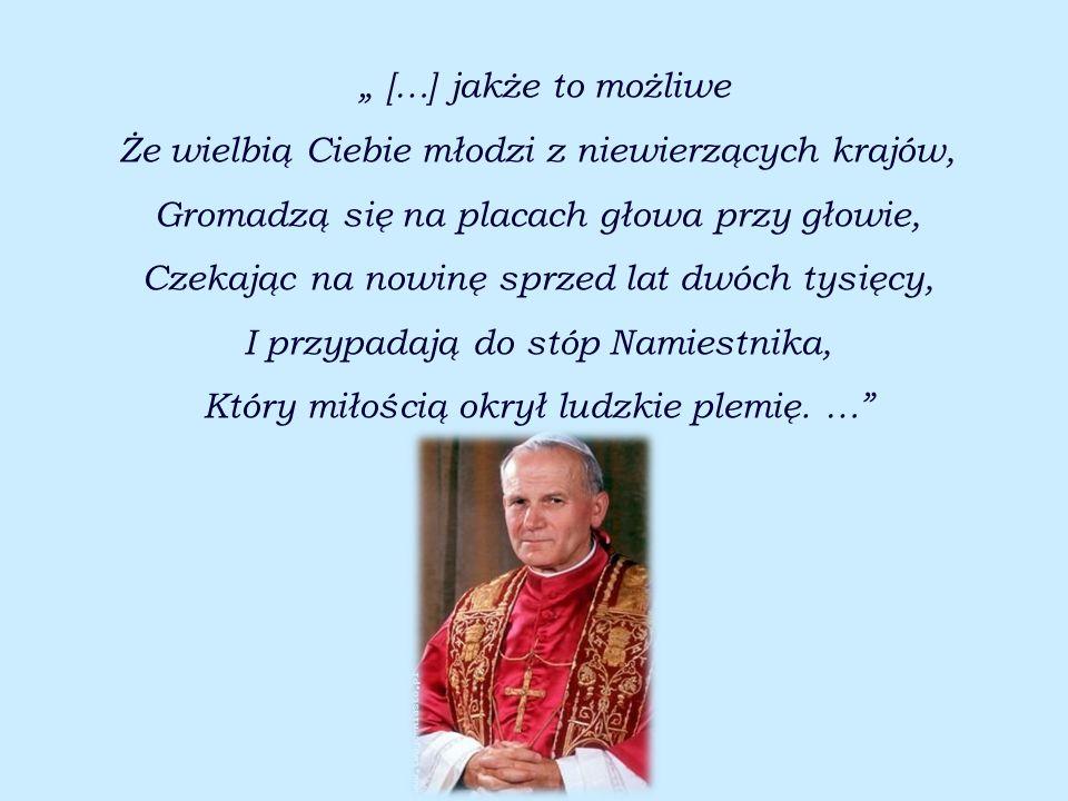 Papież nigdy nie tracił radości i pogody ducha. Uwielbiał żartować, śmiać się i cieszyć życiem mimo problemów. Był ulubieńcem młodzieży !