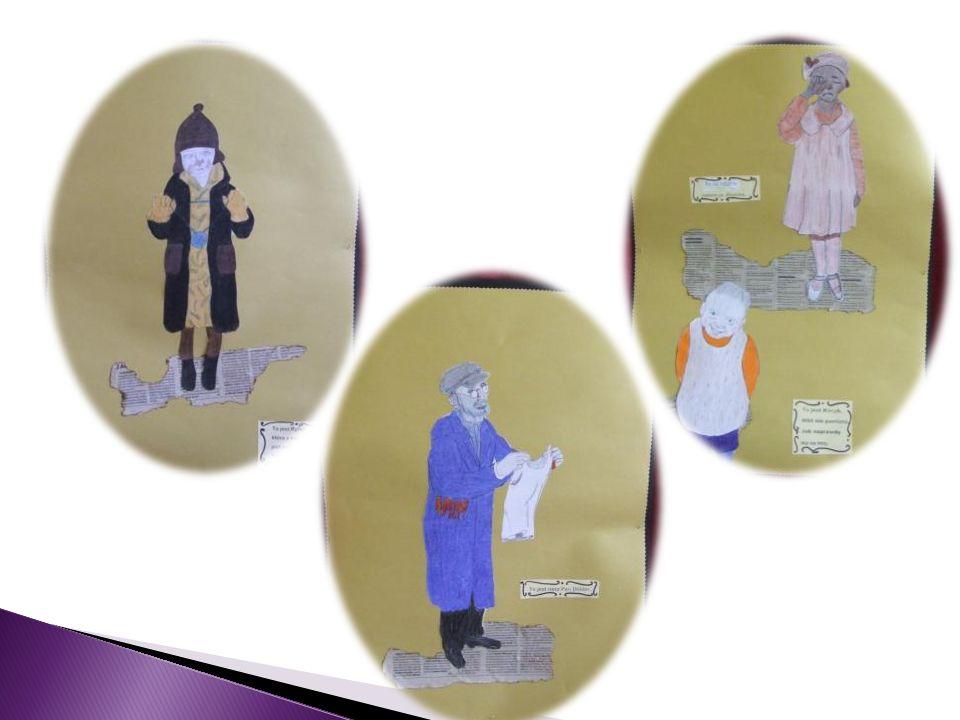 Ilustracje wykonane przez uczniów z klasy trzeciej w ramach zajęć koła plastycznego.