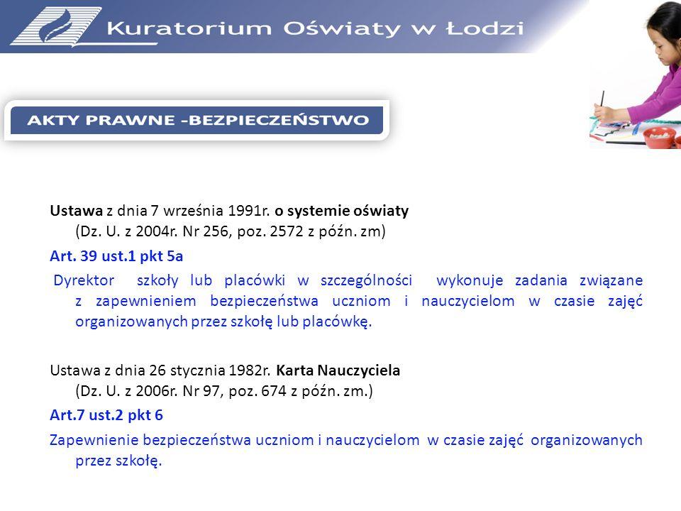Rozporządzenie Ministra Edukacji Narodowej i Sportu z dnia 31 grudnia 2002r.