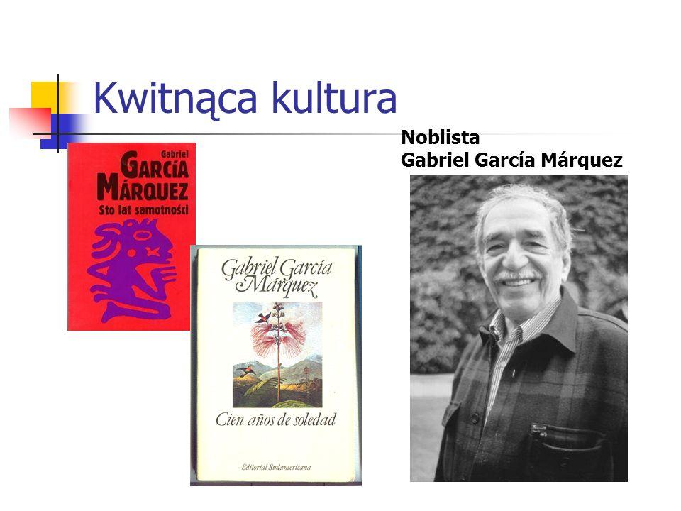 Kwitnąca kultura Noblista Gabriel García Márquez