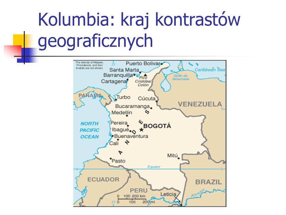 Kolumbia: kraj kontrastów geograficznych