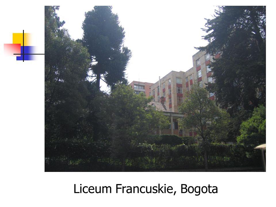 Liceum Francuskie, Bogota