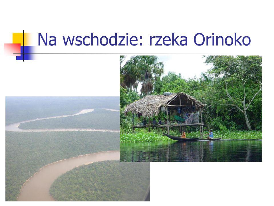 Na wschodzie: rzeka Orinoko