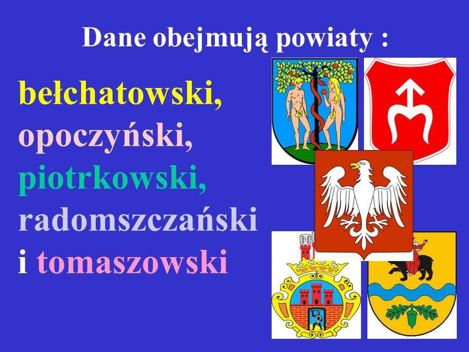 szkoły z laureatami konkursów I Liceum Ogólnokształcące w Piotrkowie 6 II Liceum Ogolnokształcące w Radomsku 3 II Liceum Ogólnokształcące w Tomaszowie 3 Liceum Ogólnokształcące (ZSO) w Opocznie 2 świadectwa z wyróżnieniem II Liceum Ogolnokształcące w Radomsku 162 I Liceum Ogólnokształcące w Bełchatowie 152 I Liceum Ogólnokształcące w Piotrkowie 148 II Liceum Ogólnokształcące w Tomaszowie 125 III Liceum Ogólnokształcące w Piotrkowie 121 I Liceum Ogólnokształcące w Radomsku 112