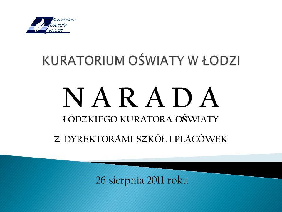 Sprawozdanie z kontroli doraźnych realizowanych przez Kuratorium Oświaty w Łodzi Delegaturę w Skierniewicach w roku szkolnym 2010/2011 Kuratorium Oświaty w Łodzi