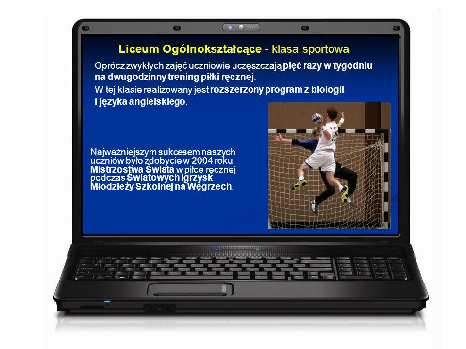 Oprócz zwykłych zajęć uczniowie uczęszczają pięć razy w tygodniu na dwugodzinny trening piłki ręcznej.