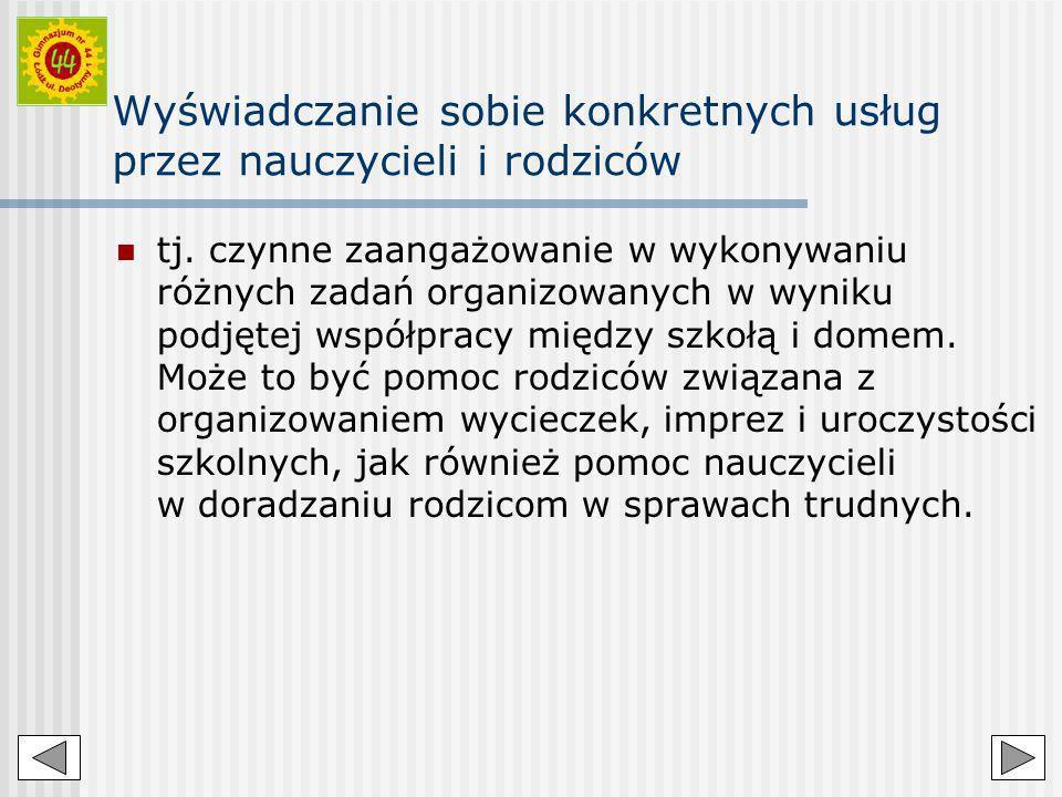 Dobre praktyki w Publicznym Gimnazjum nr 44 w Łodzi.
