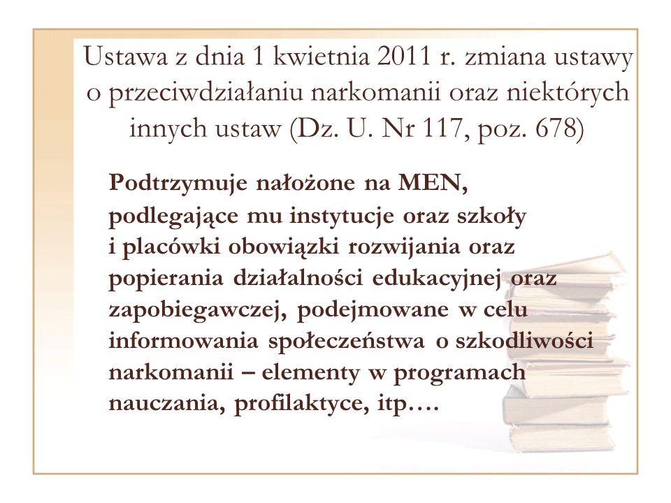 Ustawa z dnia 1 kwietnia 2011 r.