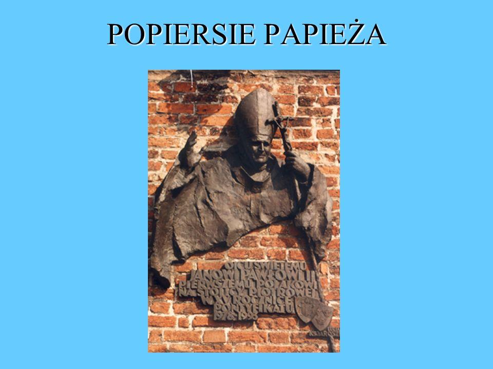 POPIERSIE PAPIEŻA