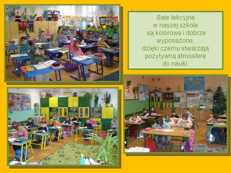 2011-03-02 Sale lekcyjne w naszej szkole są kolorowe i dobrze wyposażone, dzięki czemu stwarzają pozytywną atmosferę do nauki.