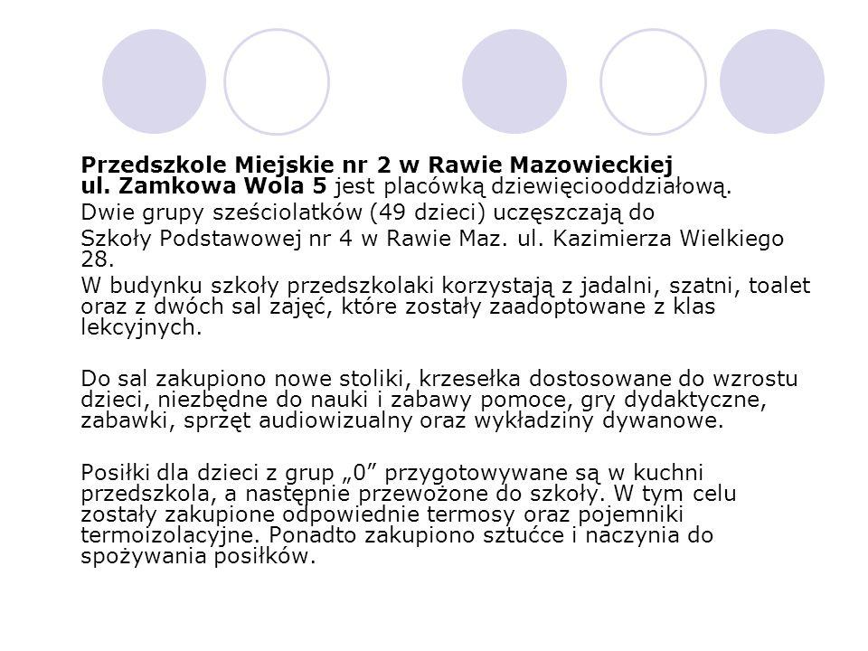 Przedszkole Miejskie nr 2 w Rawie Mazowieckiej ul.