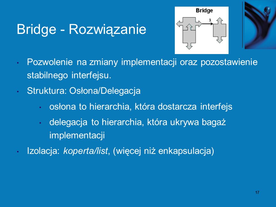 18 Bridge – przykład (szeregowanie wątków)