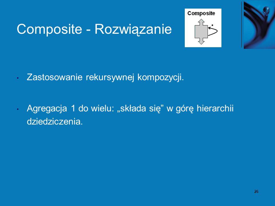 27 Composite – diagram klas