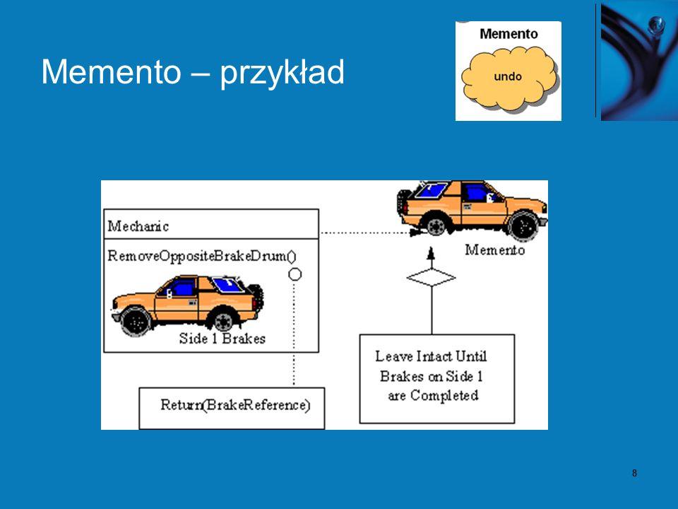 8 Memento – przykład