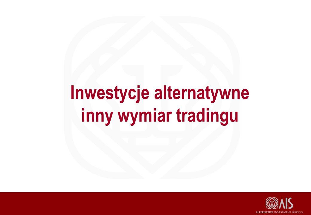 Inwestycje alternatywne inny wymiar tradingu